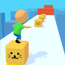 Cube Surfer Online Game