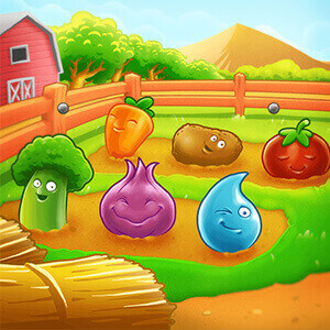 Farm Puzzle Story2 Game