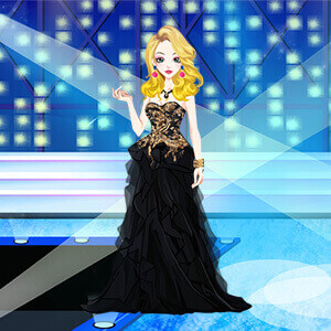 Black Style Dresses Girl Game