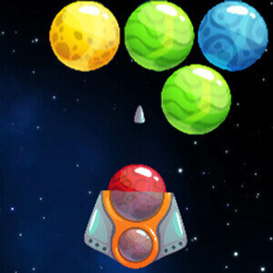 Ball Shooter Planet Game