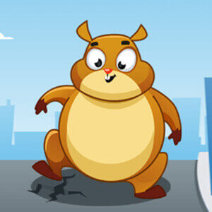 Giant Hamster Run Game