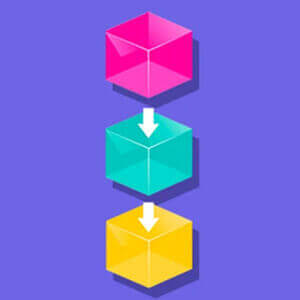 Play Color Drop Box Game Online